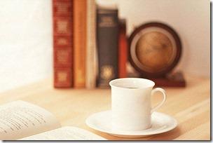 書斎のコーヒー